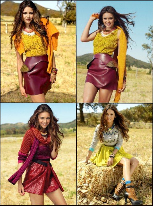 Photoshoot de Nina Dobrev pour le magazine Seventeen de novembre 2012. Je la trouve trés Jolie sur ces photos. Gros TOP!