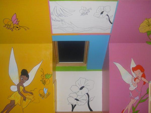 Chambre f e clochette blog de decoration chambre for Decoration chambre la fee clochette