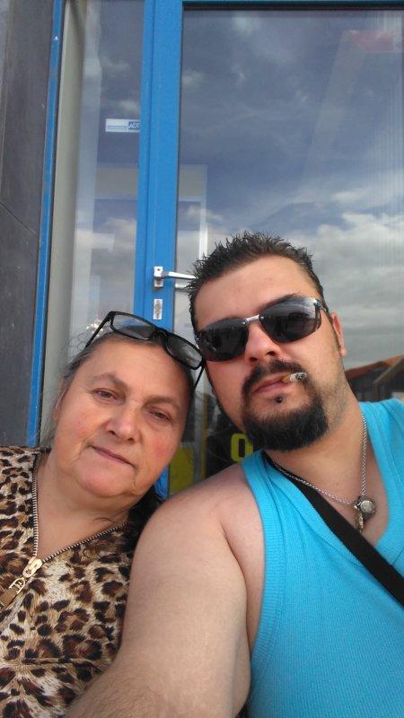 Ma maman et mon frere