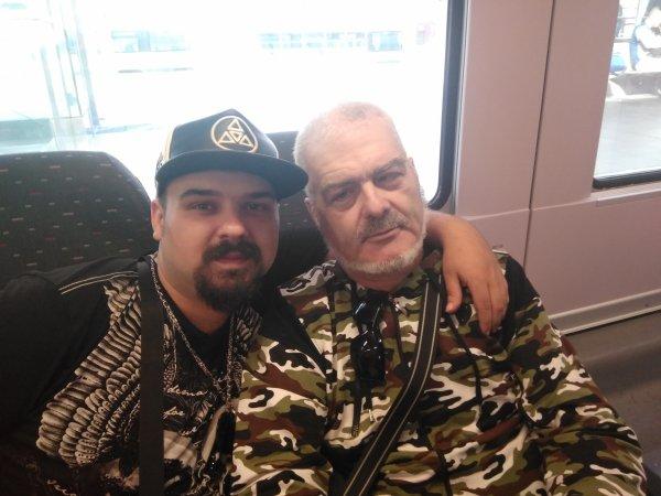 Mon frère et mon papa