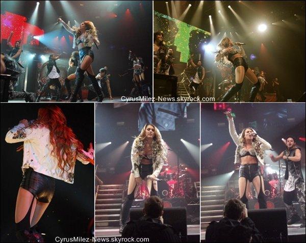 Samedi 2 Juillet : Miley performant à Perth en Australie. C'est son Dernier Concert ! Le GHT est définitivement Ternimé.