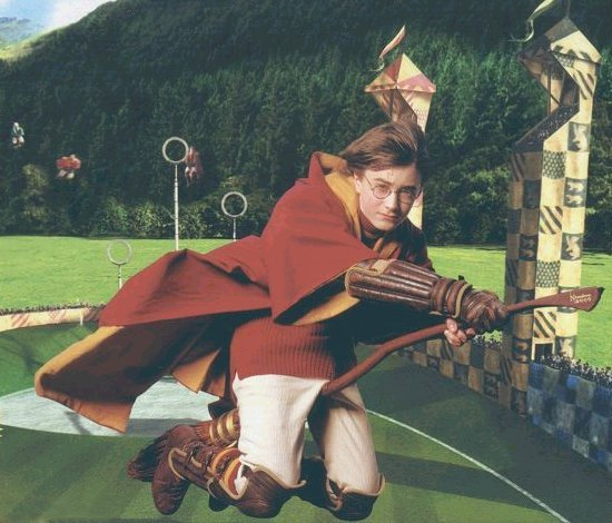 Harry Potter Au Quidditch ! :'D ♥