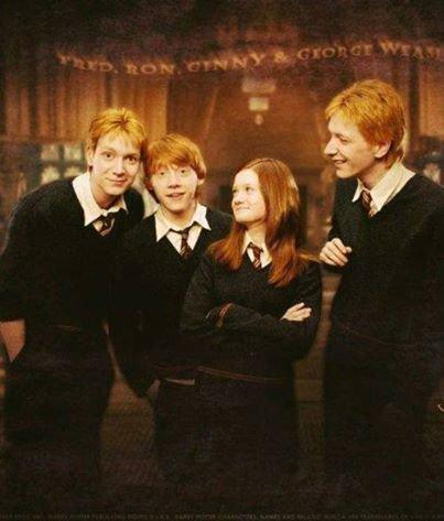 Les Frères et Soeur, Weasley.. ♥