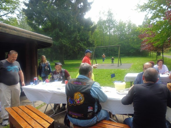 barbecue annuel du club super journee