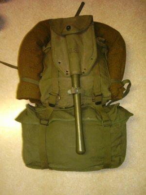 Pack Field combat M-1945