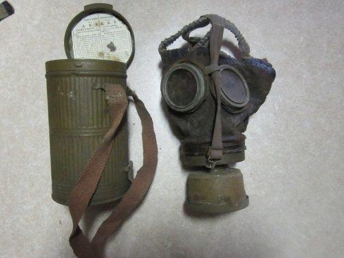 Masque anti-gaz Belge M18