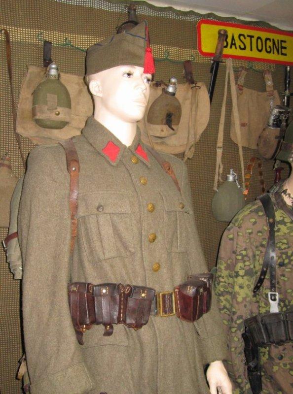 Fantassin Belge 1940