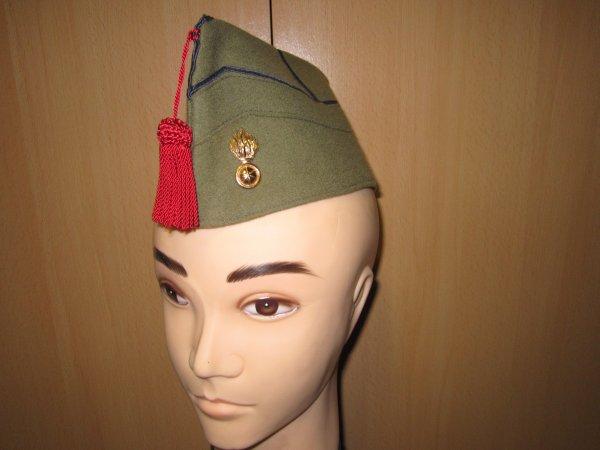 Bonnet de police grenadier Belge ww2