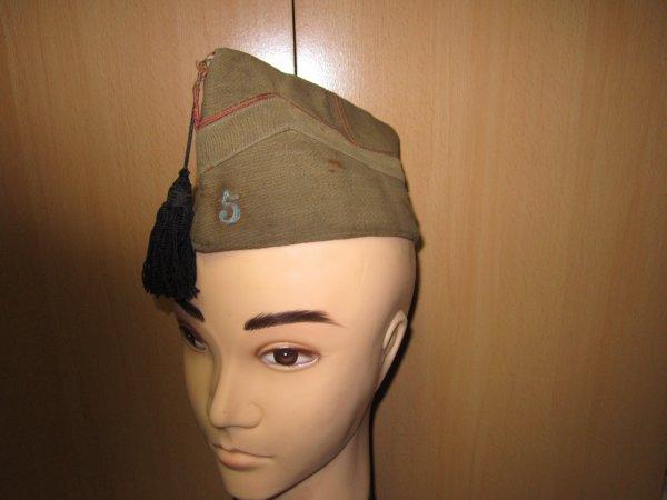 Bonnet de police artillerie Belge ww2