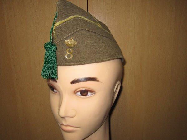 Bonnet de police chasseur à pied Belge ww2