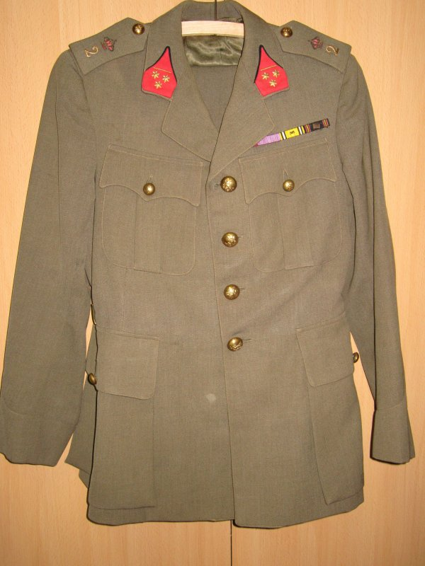 Officier d'infanterie Belge WW2