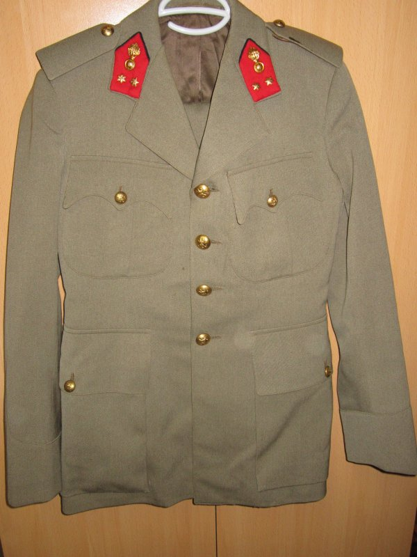 Officier grenadier Belge WW2