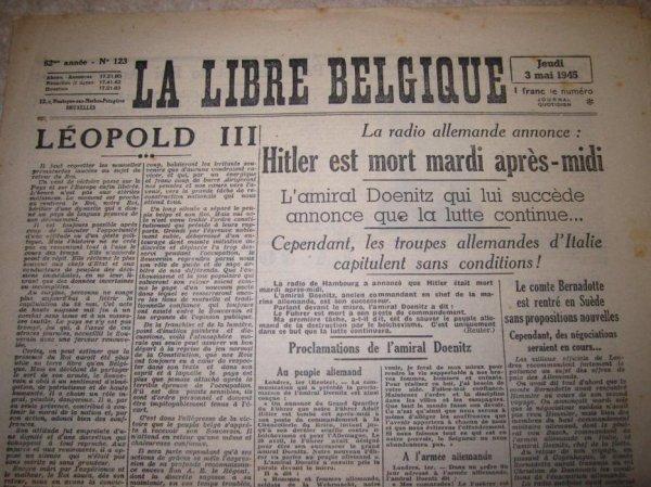 Mai 1945 : Hitler est mort !