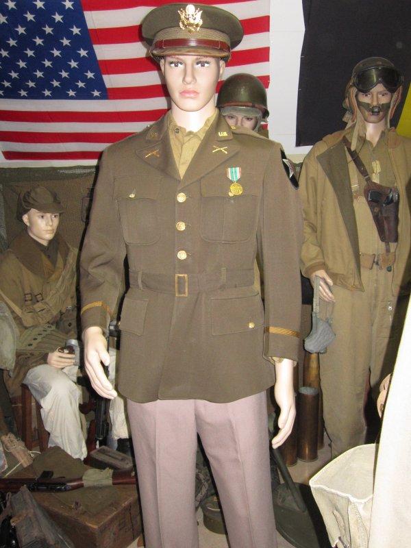 Officier d'infanterie US WW2