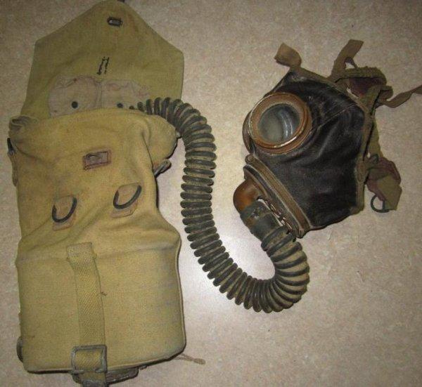 Masque anti-gaz Belge M-1929