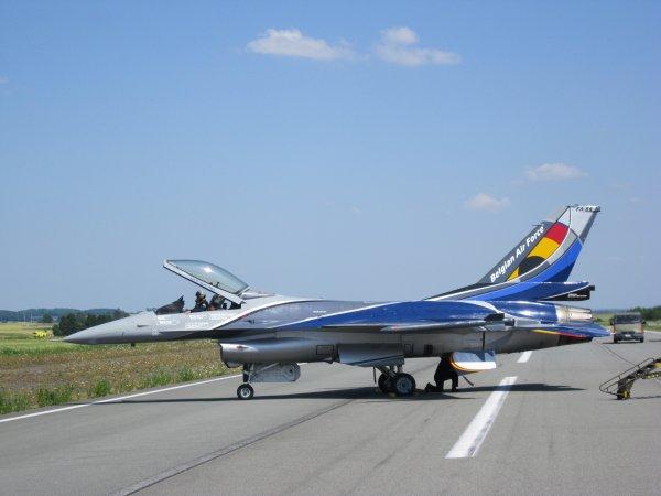 Portes ouvertes à la base aérienne de Florennes