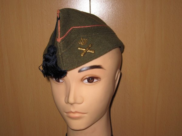 Bonnet de police artillerie de forteresse Belge ww2