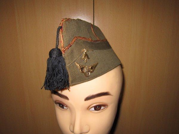 Bonnet de police du génie chemin de fer Belge ww2