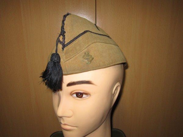 Bonnet de police du  service santé Belge ww2