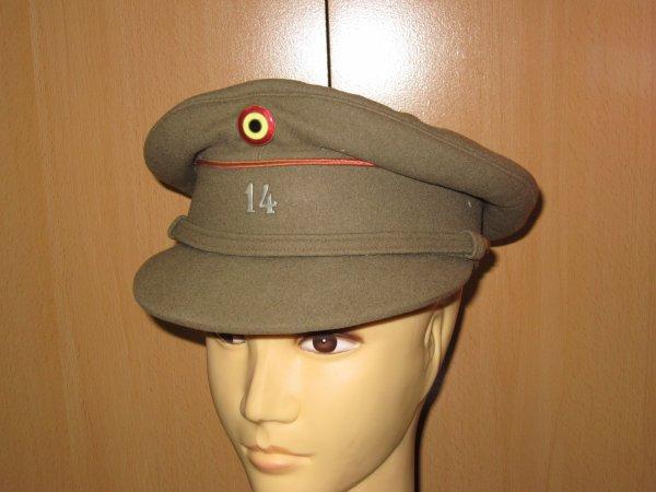 Képi sous officier artillerie belge ww2