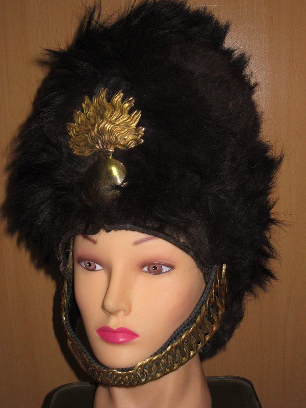 Bonnet a poil grenadier belge ww1