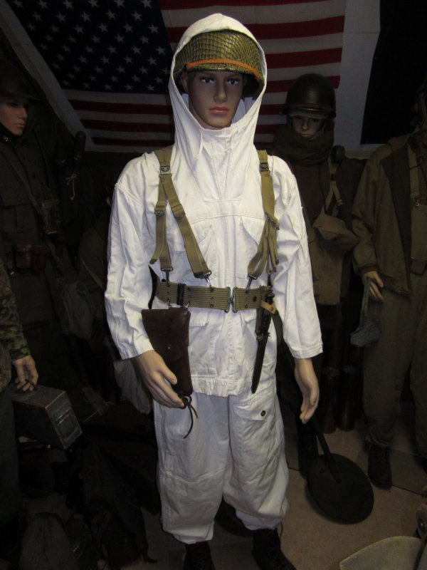Soldat US Ardennes 1944