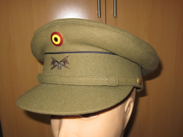 Képi sous officier lancier belge ww2