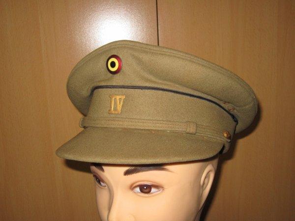 Képi sous officier infanterie belge ww2