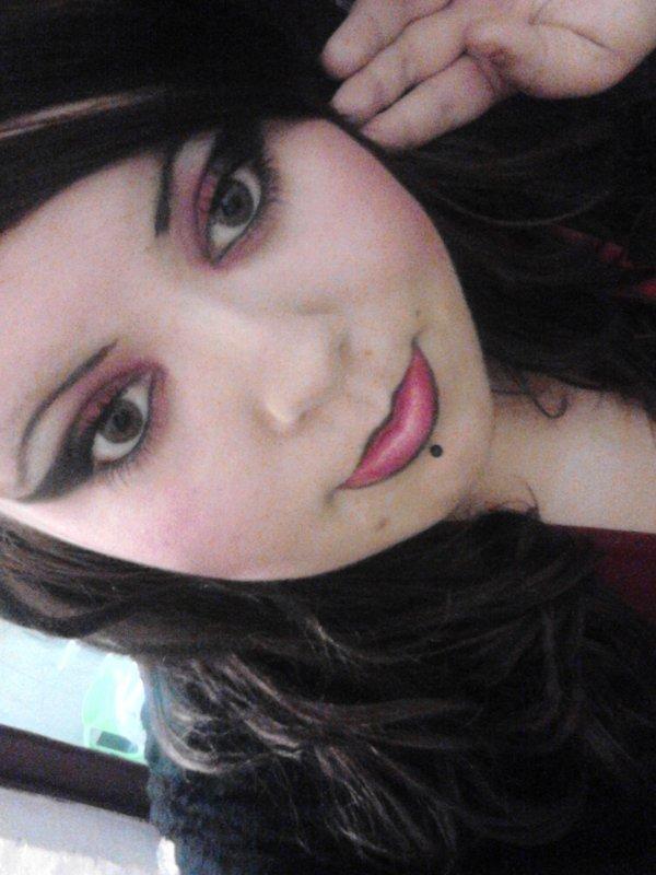 Mon Halloween :D ! Maquillage Réaliser Par Moi !