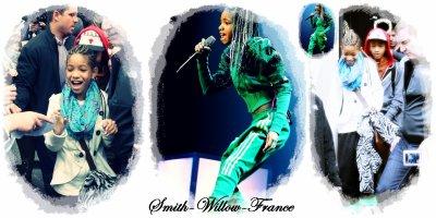 La chanteuse en herbe Willow Smith, à l'occasion d'un concert événement à l'O2 Arena, est actuellement à Dublin.
