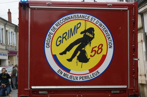 Véhicule du Grimp du C.S.P de Nevers