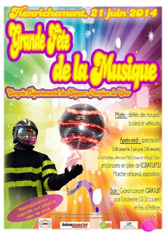 Congrès départementale des sapeurs-pompier du Cher