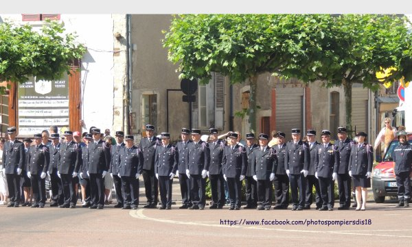 Congrès départemental des sapeurs-pompier du Cher