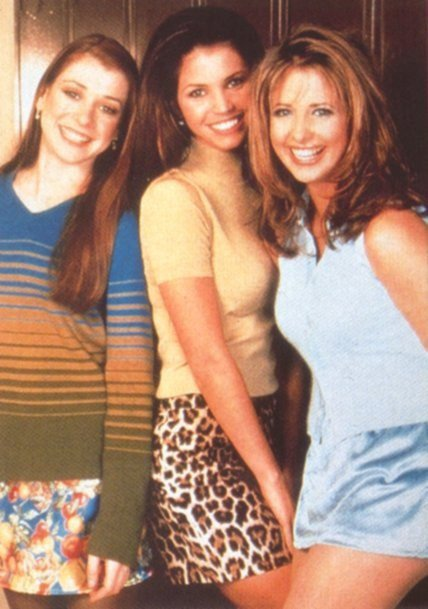 Willow, Cordélia et Buffy