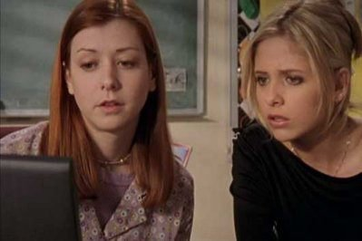 Buffy et Willow 2