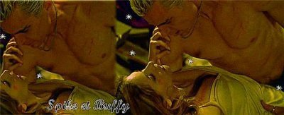Spike et Buffy