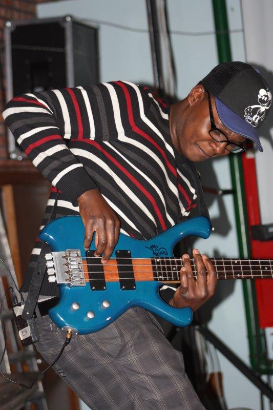 Moi sur Scene en Janvier 2011