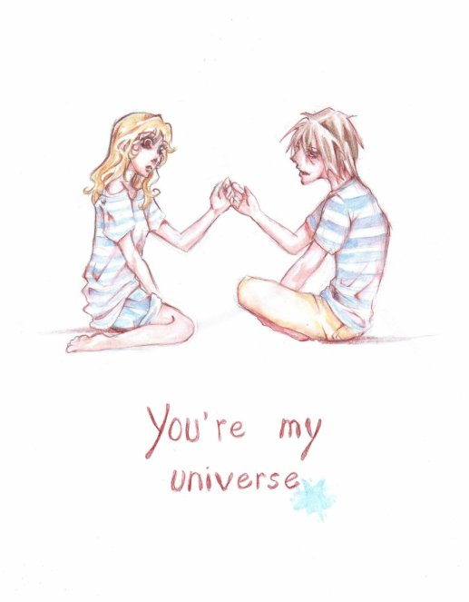 >If you love me, I'll make you a star in my universe♥ <