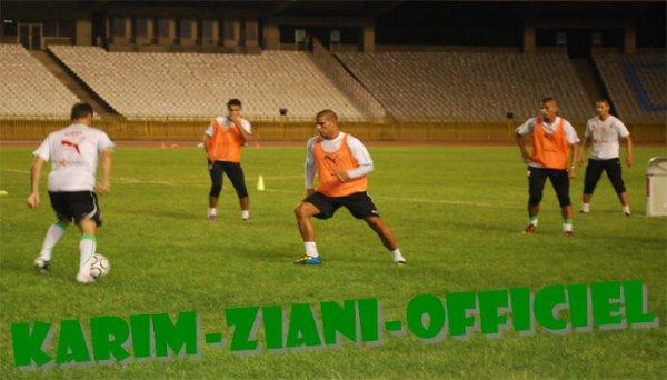 karim Ziani ( Les entrainement   Avant-match de  Tanzanie )