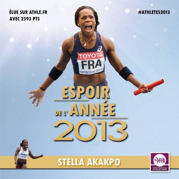 Stella Akakpo est élue Espoir féminin de l'année