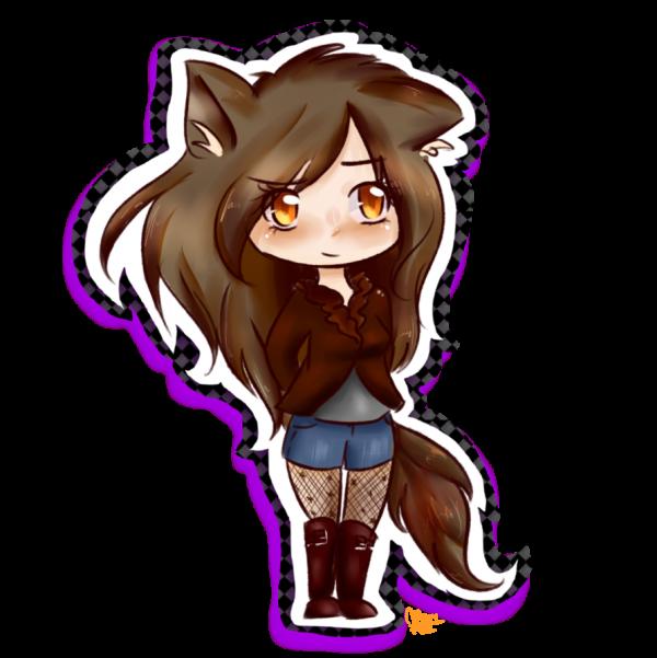 la fille loup