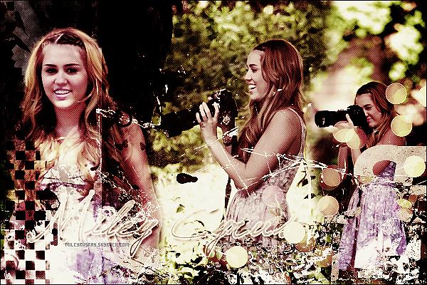 Bienvenue sur MilCyrusRay, ta source d'actualité sur Miley Cyrus ![/font=Arial]