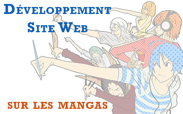 Développement d'un site web sur les mangas