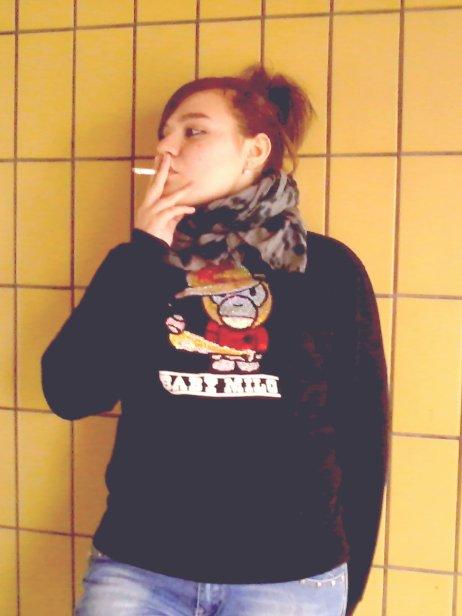 Fume , Fume avant que la vie ne te fume petite fille !