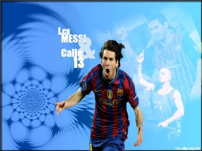 Leo Messi & Calle 13 Wallpaper by Reynaldo7