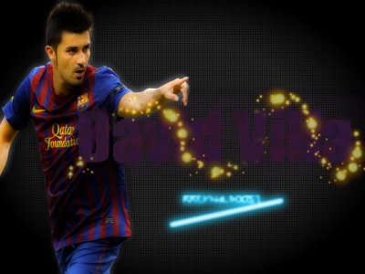 David Villa Ready for 2012