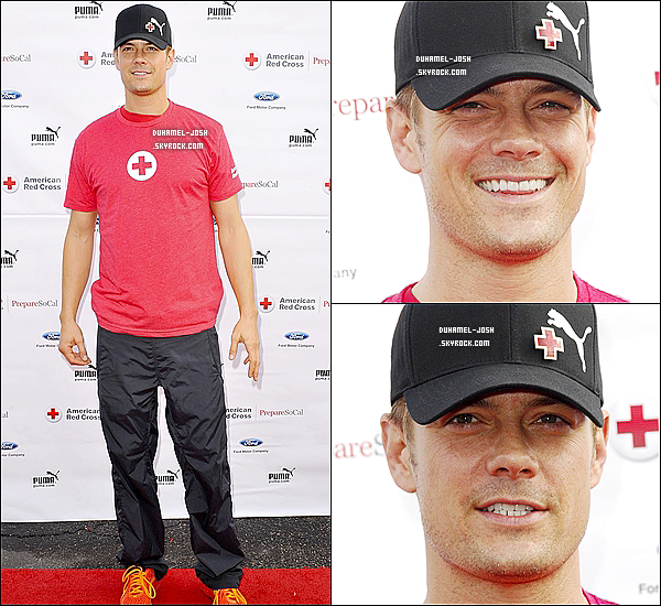 *01 / 12 / 12 - Josh Duhamel  s'est rendu au 3éme évènement de la Croix Rouge Américaine.  TOP / FLOP?    *