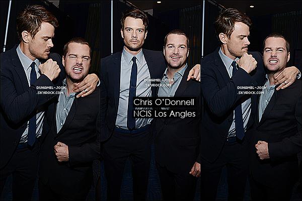 *10 / 01 / 13 - Josh Duhamel était présent au People Choice Award 2013 où il remet un prix *