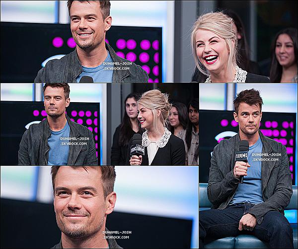 *23 / 01 / 13 - Josh et Julianne Houg étaient les invités de l'émission New.Music.Live. TOP/FLOP?*