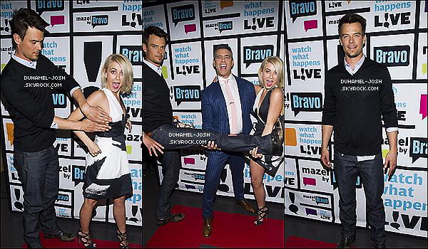 """*Nouvelle photos de presse de Josh avec Julianne Hough pour son film  """" Safe Haven """"    *"""